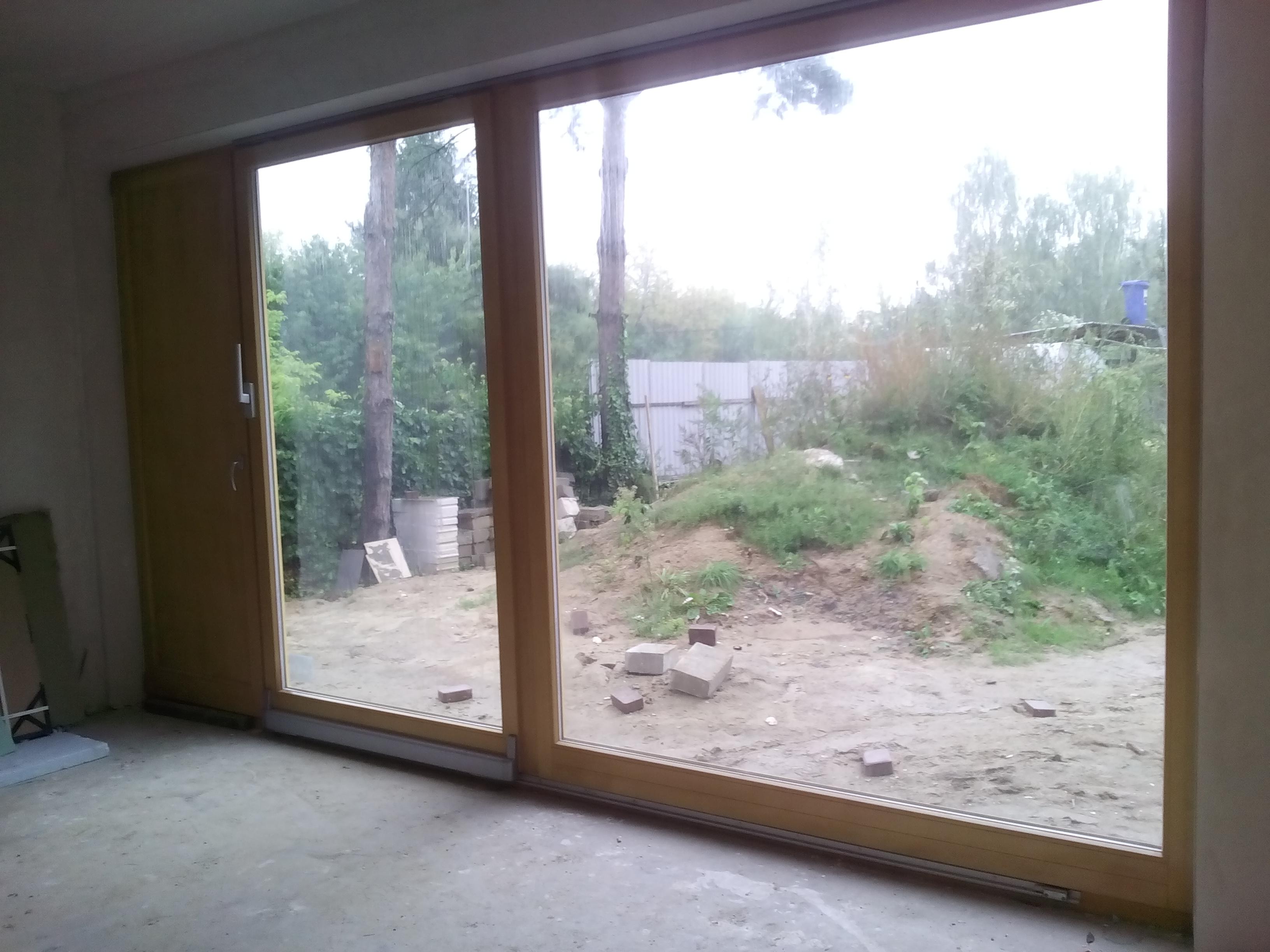 Drzwi Tarasowe Dwuskrzydlowe Przesuwne Cena Q Housepl